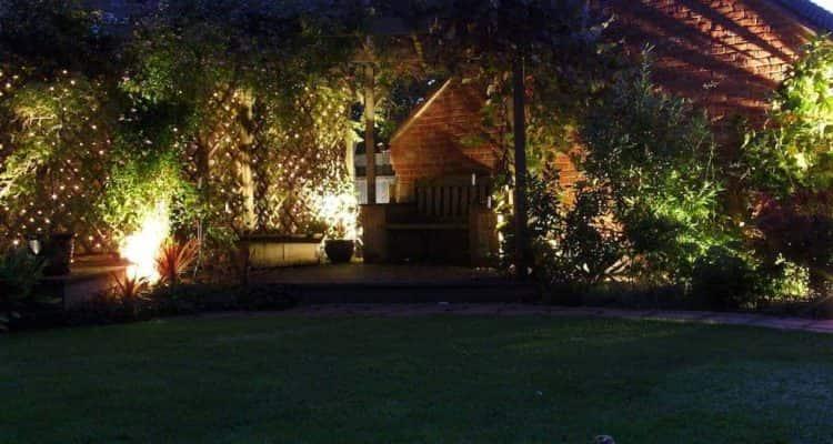 Garden Lighting, Fencing and Pergolas