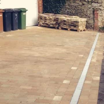 Large Scale Block Paving