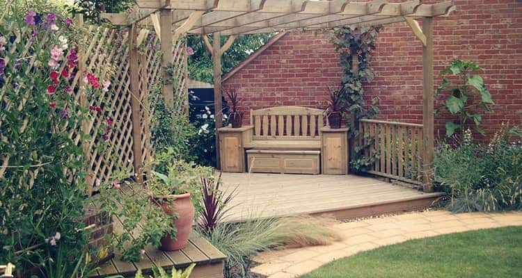 Decking and Pagola Installation