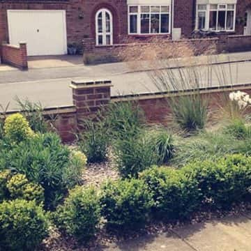 Small Scale Front Garden Services