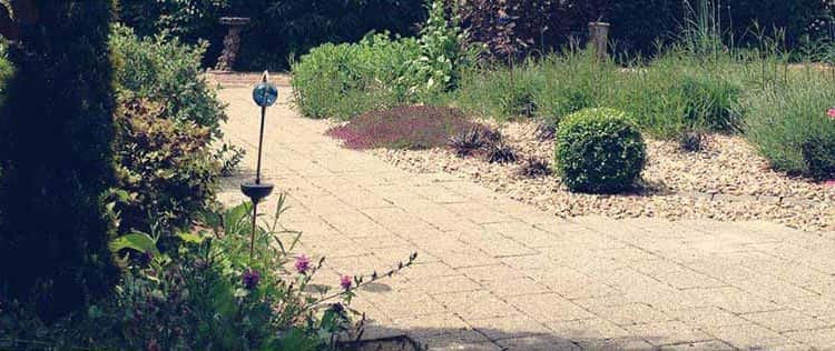 Block Paving Garden Design