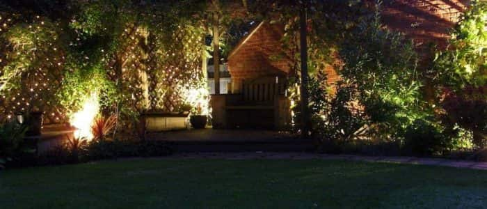 Garden Lighting, Fencing and Pergolas