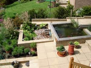 Bespoke Garden Design With Pond