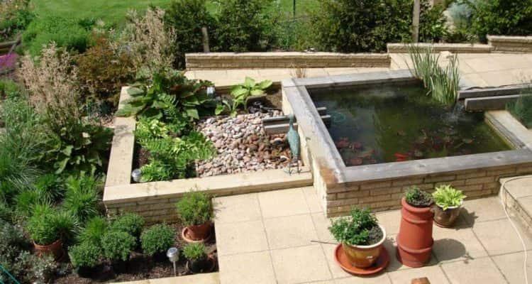 Bespoke Garden Design With Pond