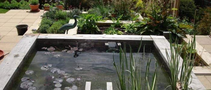 Completed Bespoke Pond, Water Features, Planting and Fencing