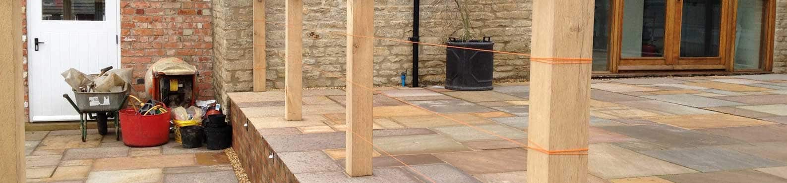 Patio And Timber Garden Construction In Kettering