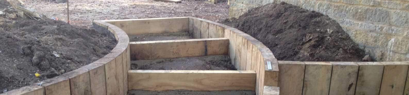 milton keynes garden construction