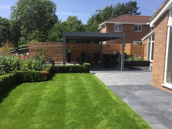 Year Round Garden & Renson Canopy