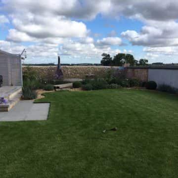 Garden turfing transformation
